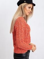 Koralowy sweter April                                  zdj.                                  3