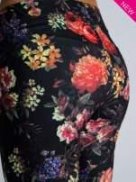 Kwiatowe legginsy elastyczne                                                                          zdj.                                                                         4