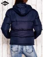 LEE COOPER Granatowa pikowana kurtka ze stójką                                  zdj.                                  3