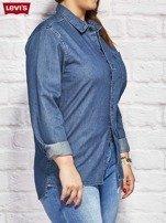LEVIS Niebieska jeansowa koszula                                  zdj.                                  3
