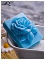 LaQ Mydełko Róża w prostokącie - niebieski / Zapach - wata cukrowa BEZ SLS i SLES                                  zdj.                                  4