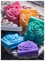 LaQ Mydełko Róża w prostokącie - różowy / Zapach - truskawka BEZ SLS i SLES                                  zdj.                                  3