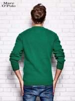 MARC O'POLO Zielony dzianinowy sweter męski                                  zdj.                                  3