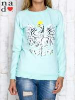 Khaki bluza z godłem