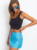 Niebieska spódnica z szortami Grenades                                  zdj.                                  3