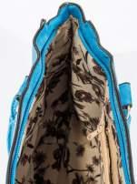 Niebieska torebka miejska                                                                          zdj.                                                                         8