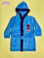 Niebieski chłopięcy szlafrok SPIDERMAN                                  zdj.                                  1
