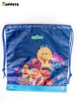 Niebieski plecak worek DISNEY Muppety