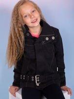 O'NEILL Czarna kurtka dla dziewczynki                                   zdj.                                  1