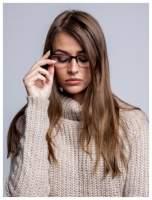 Okulary korekcyjne +4.0 D do czytania z systemem FLEX na zausznikach +GRATIS PLASTIKOWE ETUI I ŚCIERECZKA Z MIKROFIBRY                                  zdj.                                  2