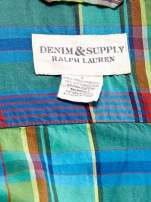 RALPH LAUREN Niebieska koszula męska w kolorową kratę                                  zdj.                                  4