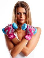 REEBOK Różowe rękawiczki treningowe                                   zdj.                                  3