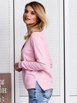 Różowa bluza ze szminkami                                   zdj.                                  5