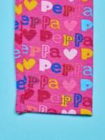 Różowe legginsy dla dziewczynki ŚWINKA PEPPA
