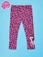 Różowe legginsy dla dziewczynki nadruk MY LITTLE PONY                                                                          zdj.                                                                         1