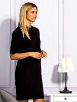 Sukienka damska z kieszeniami czarna                                  zdj.                                  5