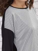 Sukienka two tone w geometryczne wzory                                  zdj.                                  2