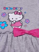 Szara spódnica dla dziewczynki HELLO KITTY z kokardką                                  zdj.                                  4
