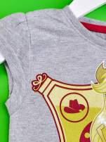 Szary t-shirt dla dziewczynki EQUESTRIA GIRLS                                                                          zdj.                                                                         3