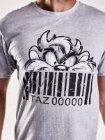 Szary t-shirt męski LOONEY TUNES                                  zdj.                                  6