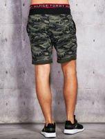 Szorty męskie w militarnym stylu khaki                                  zdj.                                  3
