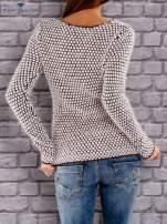 TOM TAILOR Bordowy sweter long hair                                  zdj.                                  2