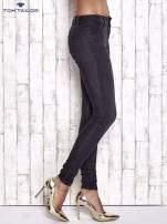 TOM TAILOR Czarne spodnie jeansowe ze stretchem                                  zdj.                                  3