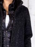 TOM TAILOR Czarny dwuczęściowy płaszcz z kurtką pikowaną                                  zdj.                                  6