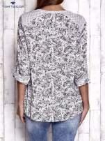 TOM TAILOR Jasnoróżowa koszula z podwijanymi rękawami wzór paisley                                                                          zdj.                                                                         5