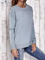 TOM TAILOR Ecru warstwowy sweter