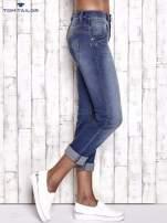 TOM TAILOR Niebieskie przecierane spodnie boyfriend jeans                                                                           zdj.                                                                         2