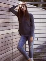 TOM TAILOR Szary ażurowy sweter                                  zdj.                                  7
