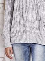 TOM TAILOR Szary wełniany sweter o grubym splocie                                  zdj.                                  7