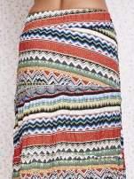 Zielona letnia spódnica maxi we wzory etno                                  zdj.                                  5
