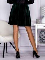 Zielona spódnica z weluru                                  zdj.                                  2