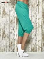 Zielone spodnie alladynki z bocznymi kieszeniami FUNK N SOUL                                                                          zdj.                                                                         3
