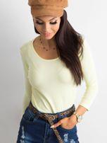 Żółta bluzka Mona                                  zdj.                                  1