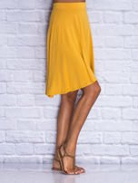 Żółta zwiewna spódnica midi                                  zdj.                                  3